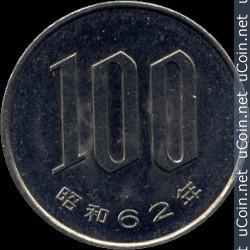 JPY 1987 100 Yen