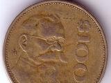 MXP 1989 100 Peso