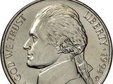 USD 1994 5 Cent D