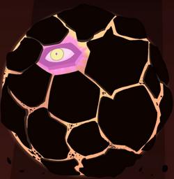 Bola de Magma Animada