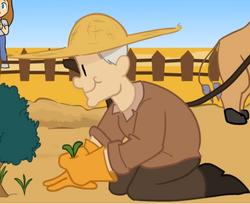 Fazendeiro Animado