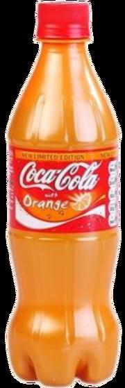 Coke Orange bottle