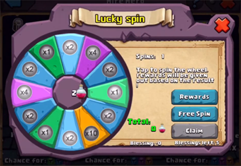Lucky Spin