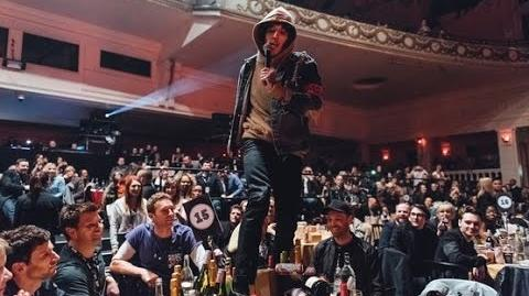 Oli Sykes 'trashed' Coldplay's Table at NME Awards