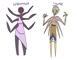 Widowmaker + Jdune