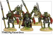 TT402 Pig Faced Orcs