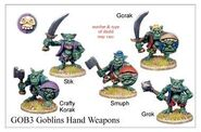 GOB03 Goblins With Hand Weapons (5)