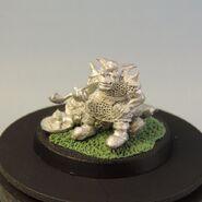 Goblin on dead dwarf 1