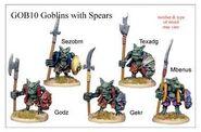 GOB10 Goblin With Spears (5)