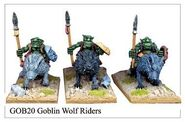 GOB20 Goblin Wolf Riders (3)