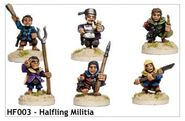 HF003 Halfling Militia