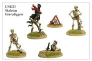 UND23 Skeleton Grave Diggers