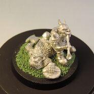 Goblin on dead dwarf 9
