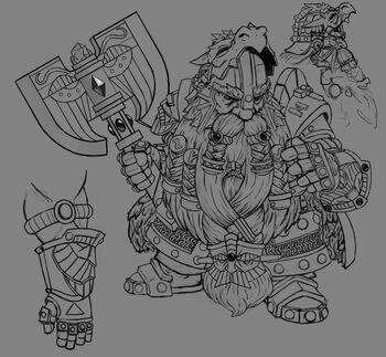 Bugmans concept DwarfKing