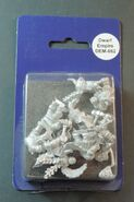 DEM062 Dwarf Lieb Knights on foot with hammers and shield II - blister