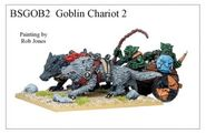 BSGOB02 Goblin Archers Chariot