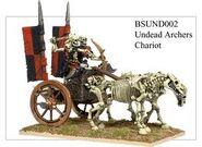 BSUND02 Undead Archers Chariot