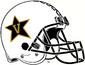 NCAA-ACC-Vanderbilt Commodores White Anchor Down helmet