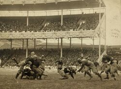 Army - Navy football at Polo Grounds