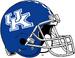 NCAA-SEC-UK Wildcats Helmet-Blue Checkered Stripe