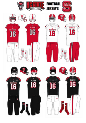 NC State Wolfpack Jerseys 2006-present
