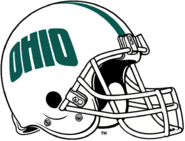 NCAA-MAC-Ohio Bobcats white helmet