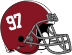 NCAA-SEC-Alabama Crimson Tide helmet