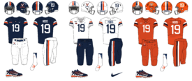 NCAA-ACC-2019 Virginia Cavs Football Jerseys