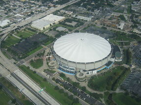 Tropicana field from air