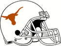 NCAA-Big 12-Texas Longhorns Helmet
