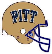 NCAA-Pitt Panthers helmet