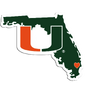 Miami Hurricanes Florida alternate logo