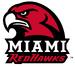 NCAA-MAC-Miami Redhawks mascot & script logo