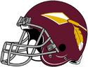 NFL-Helmet-WAS-1969-Redskins Helmet-Right side