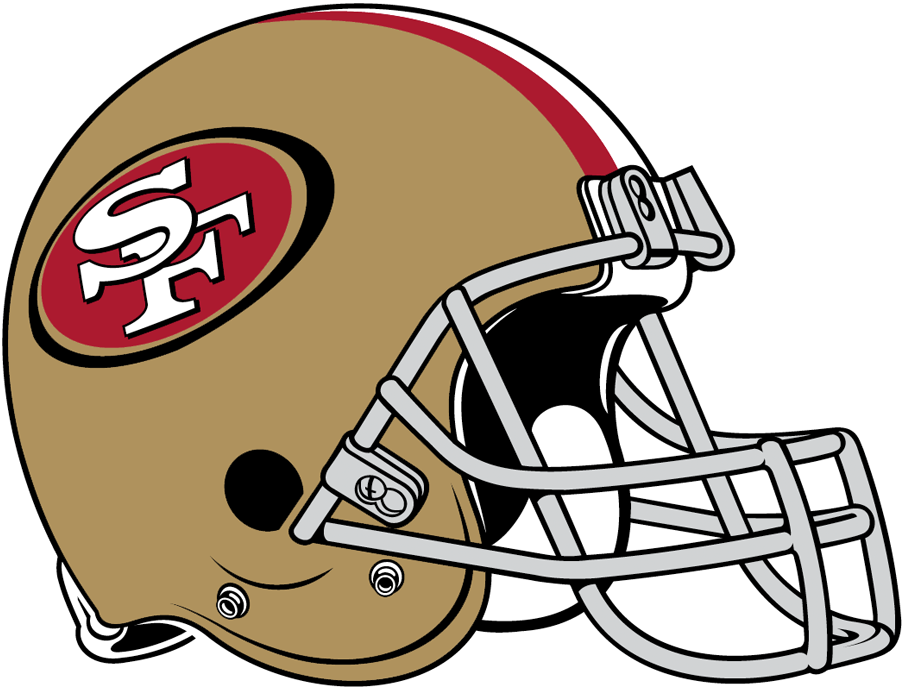 db8e065d41b NFL-NFC-SF Helmet - Left Face · SanFrancisco49ers 1000