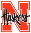 NCAA-Big 10-1992-2012 Nebraska Cornhuskers logo