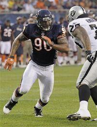 Julius Peppers Bears vs Raiders
