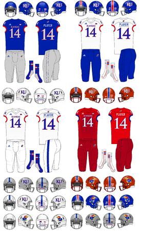 NCAA-Big 12-Kansas Jayhawks jerseys
