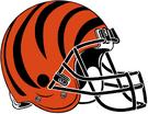 NFL-AFC-Cincinnati Bengals helmet
