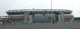 Gillette Stadium exterior