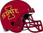 NCAA-Big 12-Iowa Cyclones Cardinal Helmet
