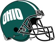 NCAA-MAC-Ohio Bobcats green helmet