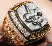 Super Bowl 44 Ring
