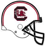 NCAA-SC Gamecocks Helmet-732px