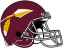 NFL-Helmet-WAS-1969-Redskins Helmet
