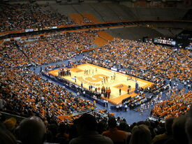 Carrier Dome Basketball View