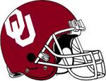 NCAA-Oklahoma Sooners helmet