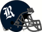NCAA-C-USA-Rice Owls Blue Helmet-Grey facemask