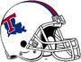NCAA-USA-LA Tech BullDogs White helmet