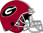 NCAA-SEC-Georgia Bulldogs helmet